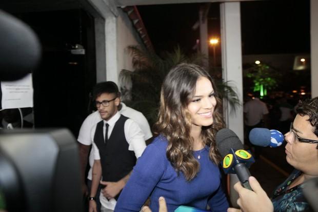 Bruna Marquezine e Neymar (Foto: Isac Luz / EGO)
