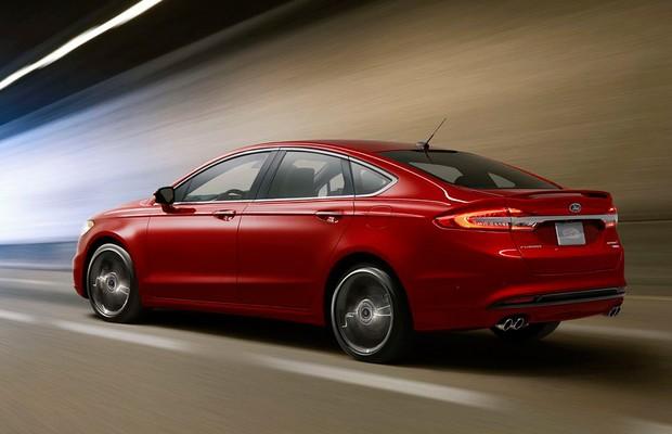 Ford Fusion 2017 (EUA) (Foto: Ford)