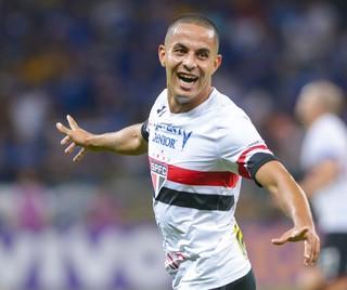 Ytalo gol Cruzeiro x São Paulo (Foto: YURI EDMUNDO - AGÊNCIA ESTADO)