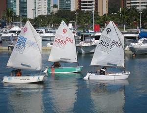 Campeonato Estadual de vela, classe Optimist  (Foto: Campeonato Estadual de vela, classe Optimist )