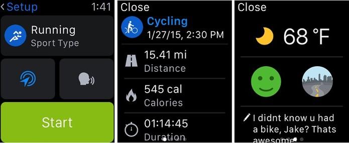 App fornece estatística em tempo real sobre atividade física (Foto: Divulgação/Apple)