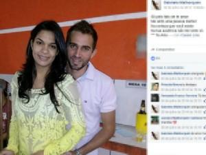 Casal de MS morreu em acidente em MT (Foto: Reprodução/Facebook)