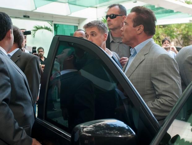 Arnold Schwarzenegger Rio de Janeiro (Foto: Erbs Jr./Agência Estado)