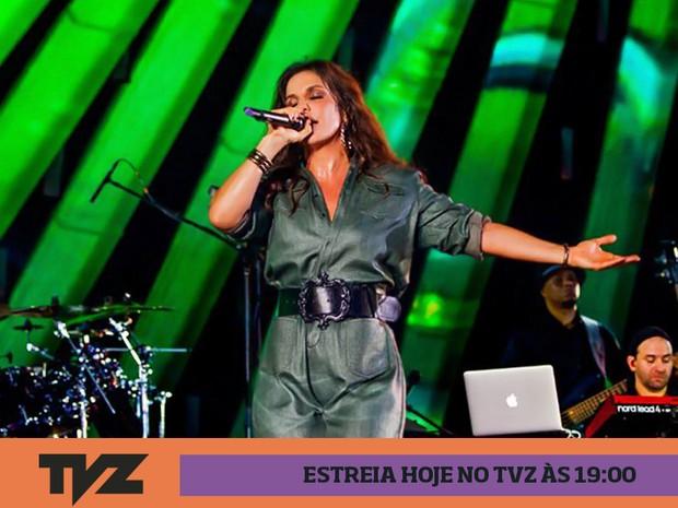 Ivete Sangalo no TVZ (Foto: Divulgao)