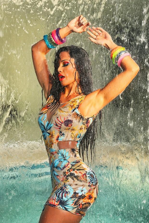 Fernanda D'avila, bailarina do Faustão (Foto: Eurico Freire/Divulgação)