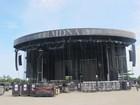 Palco de Madonna no Rio tem altura de 26 metros e cinco telões de led