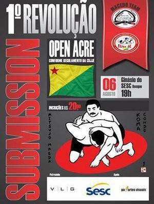 banner torneio de jiu jitsu acre (Foto: Arquivo Pessoal/Joe Macedo)