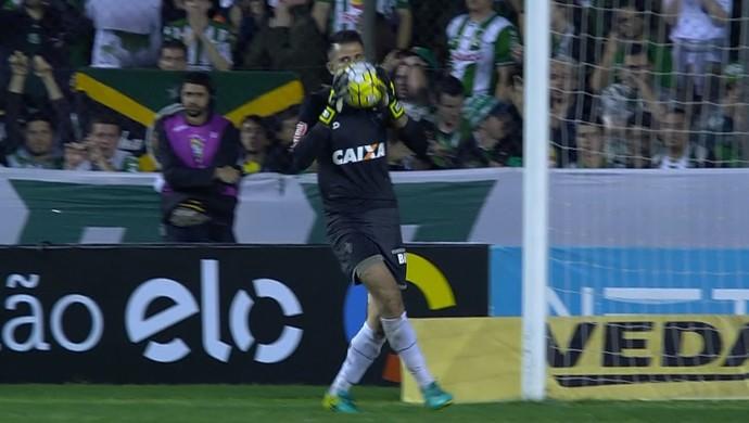 Victor; Atlético-MG (Foto: Reprodução/TV)
