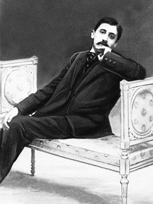 O escritor francês Marcel Proust