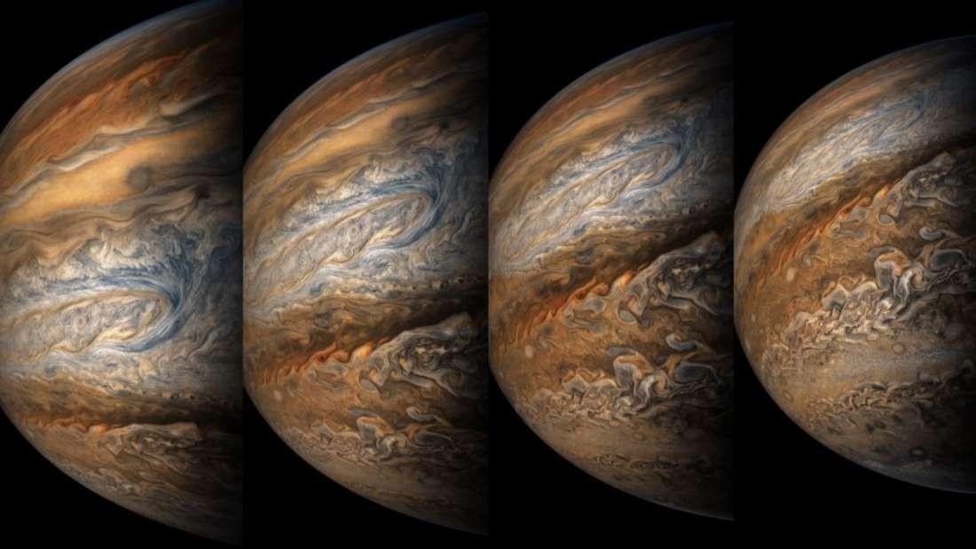 Júpiter (Foto: NASA / SwRI / MSSS / Gerald Eichstädt / Seán Doran )