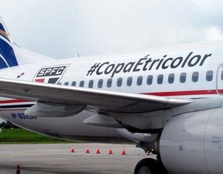 Parceria SPFC Copa Airlines