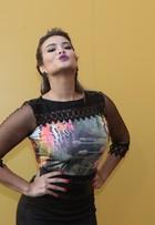 'Eu sou muito carão e uso o que eu quero', diz Geisy Arruda no SPFW