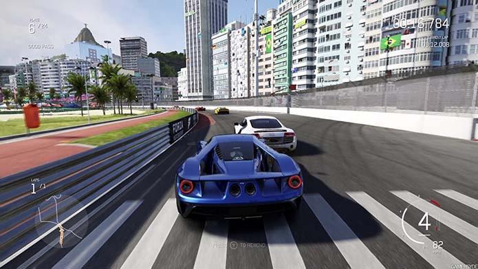 Ajuste a dificuldade depois das primeiras corridas para otimizar o jogo (Foto: Reprodução/Gamespot)