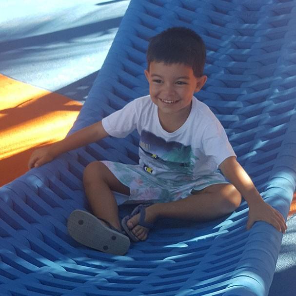 O menino Franco (Foto: Arquivo pessoal)