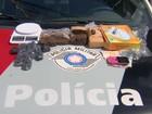 Jovem é preso com 1,5 quilo de droga em Eugênio de Melo em São José, SP