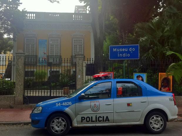Sede do atual Museu do Índio, em Botafogo (Foto: Isabela Marinho/G1)