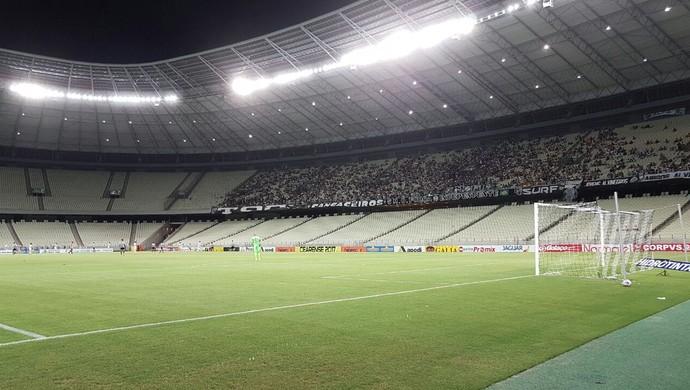 Ceará x Ferroviário Campeonato Cearense Arena Castelão (Foto: Caio Ricard/TV Verdes Mares)