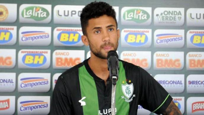Pedrinho Apresentação América-mg (Foto: Assessoria AFC / Carlos Cruz)