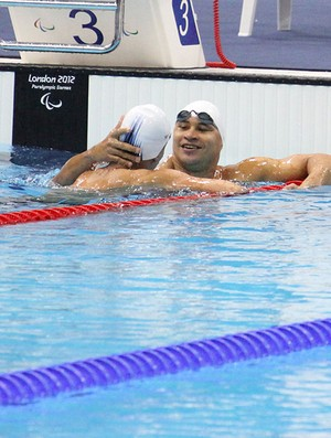 Daniel Dias e Clodoaldo Silva, Paralimpiadas, Natação (Foto: Gustavo Carvalho / Divulgação)