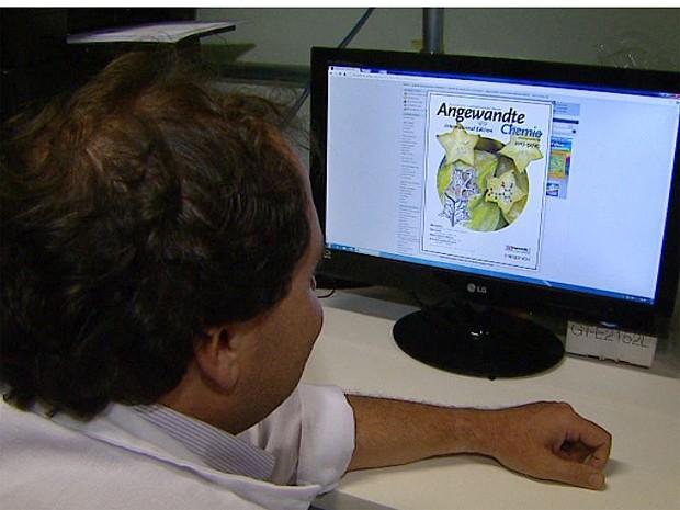 Pesquisadores da USP de Ribeirão Preto (SP) demoraram mais de 10 anos para identificar molécula na carambola que causa intoxicação (Foto: Maurício Glauco/ EPTV)