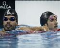 Brasil fatura cinco medalhas de ouro  no 2º dia do evento-teste de natação