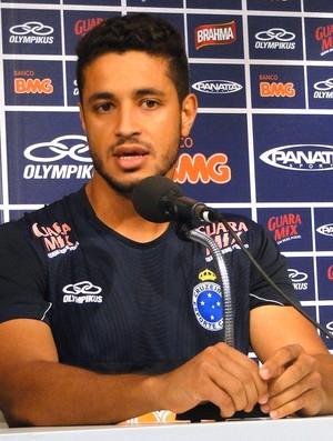 Leo coletiva Cruzeiro (Foto: Gabriel Medeiros / Globoesporte.com)