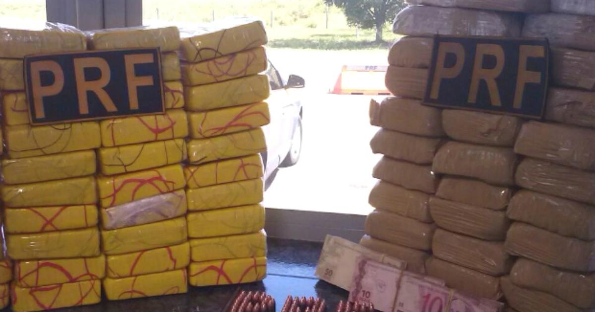 Duas pessoas são presas com 42 kg de cocaína em Alto Paraíso - Globo.com