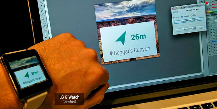 LG G Watch tem visual comum (Foto: Divulgação/Android Developers)