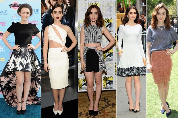 MODA - Lily Collins (Foto: Getty Images)