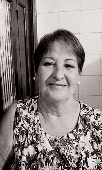 Maria Lucia,que morreu á espera de uma vaga na UTI  (Foto:  )