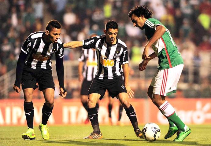 Diogo no jogo Palmeiras x Atlético-MG Copa do Brasil (Foto: Marcos Ribolli / Globoesporte.com)