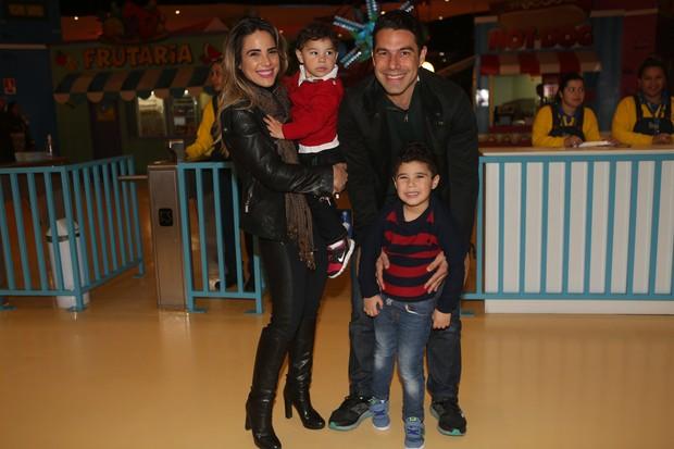 Wanessa Camargo e família  (Foto: Iwi Onodera/EGO)