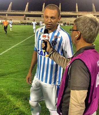 Perema esteve em Santarém pelo Paysandu enfrentando o São Francisco (Foto: Dominique Cavaleiro/GloboEsporte.com)