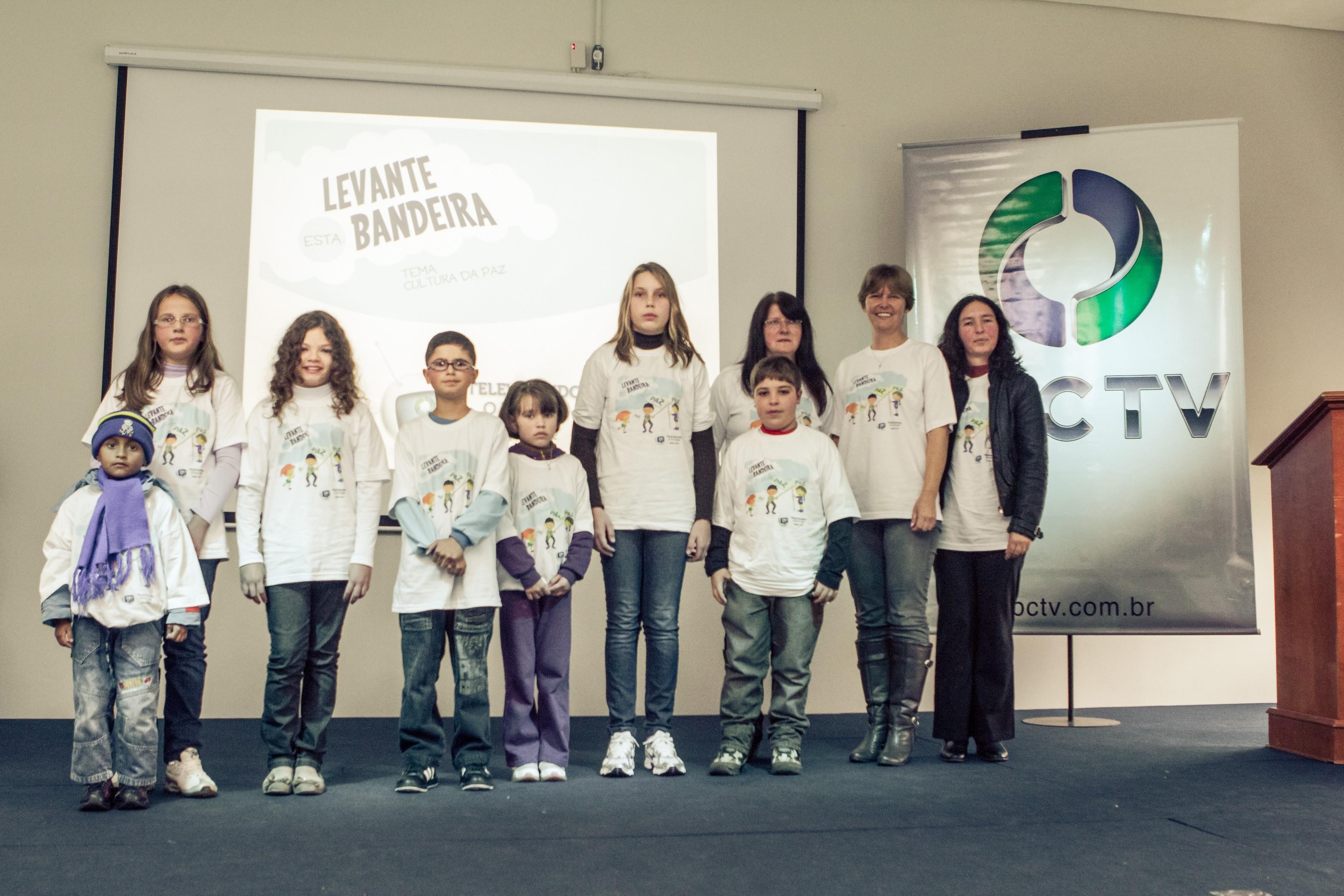 Concurso Cultural do Televisando o Futuro: Premiação dos trabalhos da Regional Guarapuava (Foto: Luciano Meireles / RPC TV)