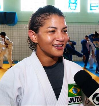 Sarah Menezes (Foto: TV Clube)