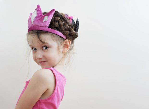 Princesa; criança; menina (Foto: Shutterstock)