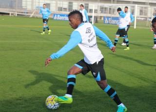 Bolaños Iago Grêmio (Foto: Eduardo Moura/GloboEsporte.com)