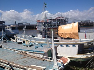Embarcações precisam ser legalizadas para o benefício ser autorizado no Amapá (Foto: Abinoan Santiago/G1)