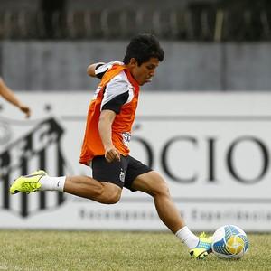 Lucas Otávio Santos (Foto: Ricardo Saibun / Divulgação Santos FC)