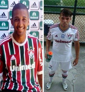 João Vitor e Leandro Fluminense (Foto: Divulgação )
