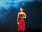 Sandy canta 'Lua de Cristal' em festa de Xuxa e arranca aplausos da plateia