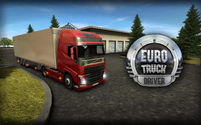 Euro Truck Driver traz as estradas da Europa para o seu smartphone (Foto: Divulgação/Ovidiu Pop)