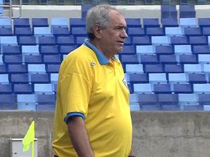 Treinador Marcos Birigui do Poconé (Foto: Reprodução/TVCA)