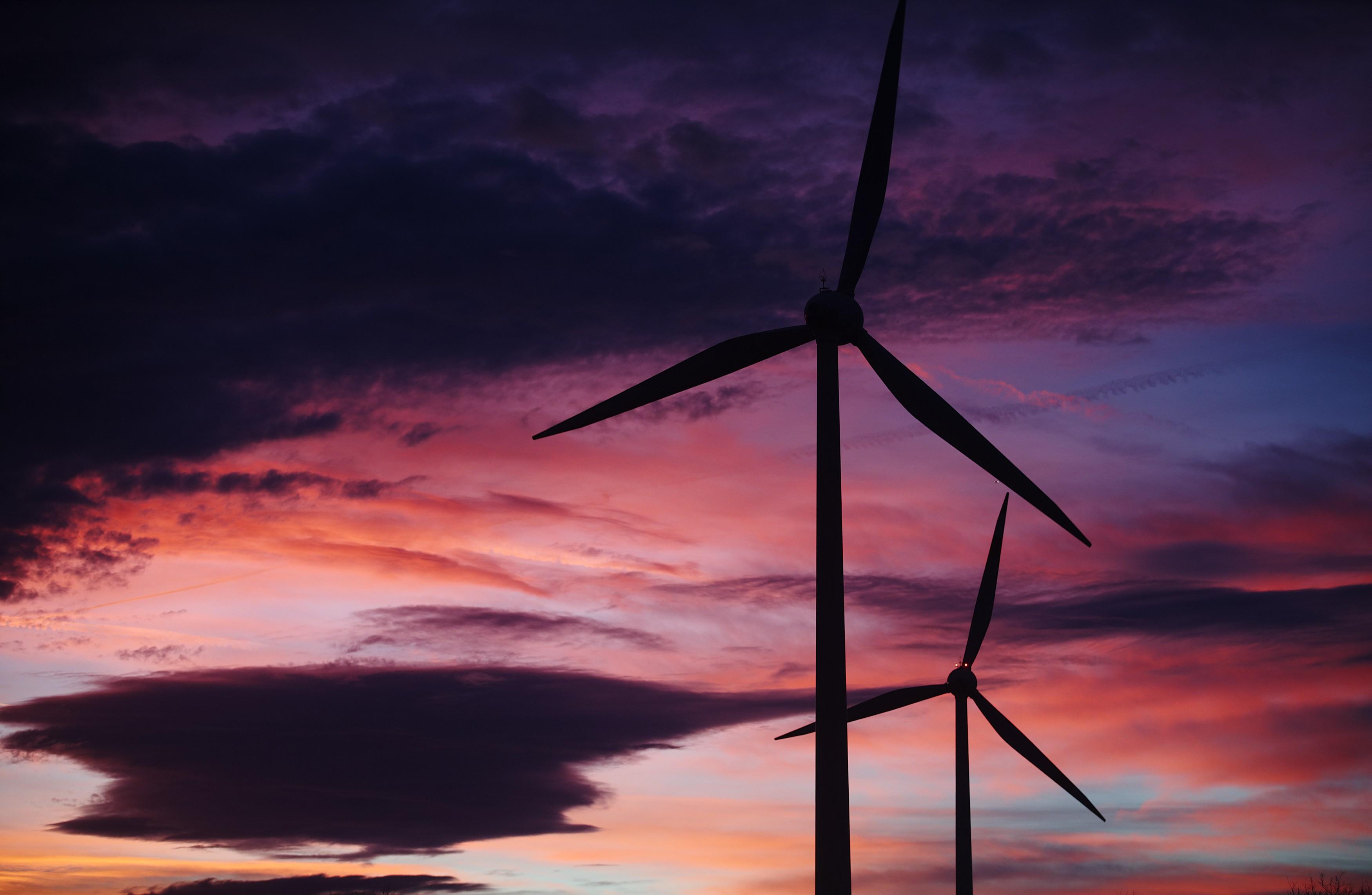 Participação do vento na geração elétrica da Costa Rica cresce anualmente (Foto: Divulgação)