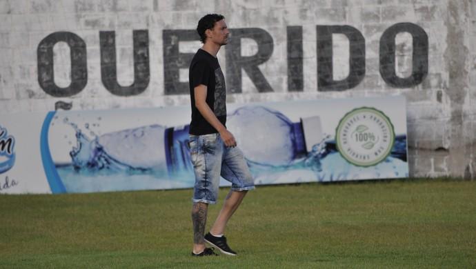 Gustavo Bastos zagueiro do ABC (Foto: Diego Simonetti/Blog do Major)