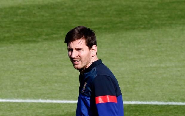 Lionel messi barcelona treino (Foto: Agência Reuters)