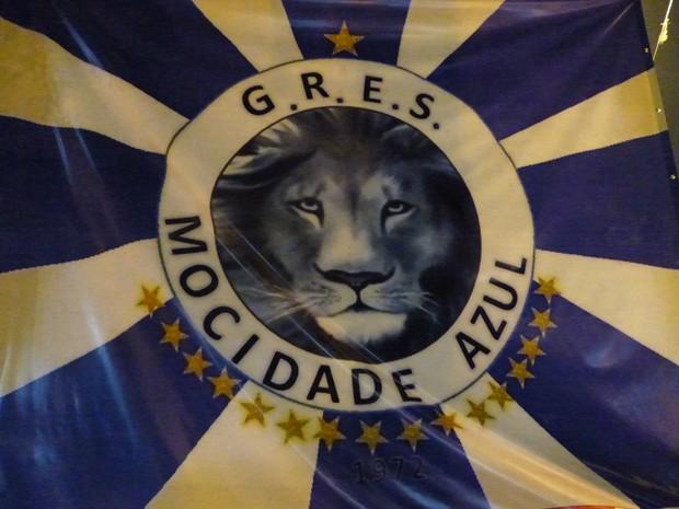 Mocidade Azul busca o 23º título do carnaval de Curitiba (Foto: Fernando Castro/ G1)