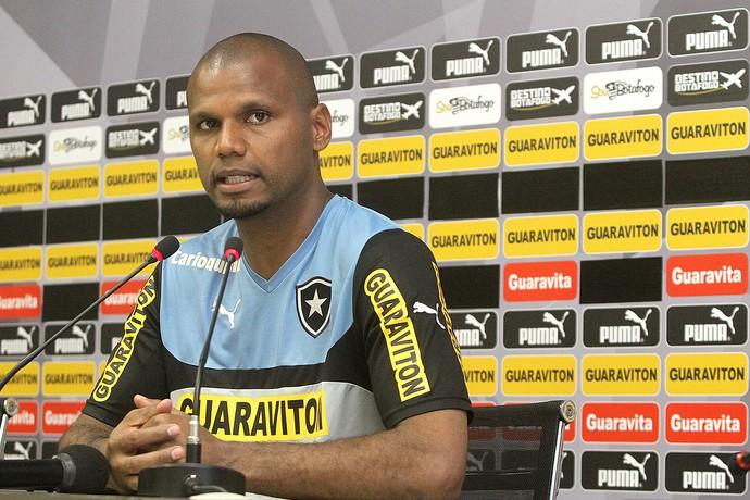 treino do Botafogo, Jefferson (Foto: Vitor Silva / SSPress)