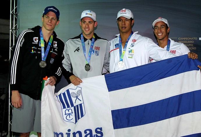 Cesar Cielo, Maria Lenk, natação, Thiago Pereira (Foto: Satiro Sodré)