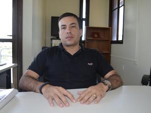 Fábio Muniz, superintendente da Pesca no AP começa a implantação do Plano Safra em agosto (Foto: Maiara Pires/G1)